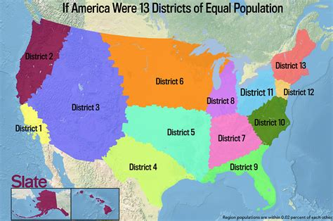 demographic map of the united states if every u s state had the same population what would