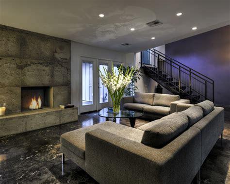 interior basement beautiful homes design
