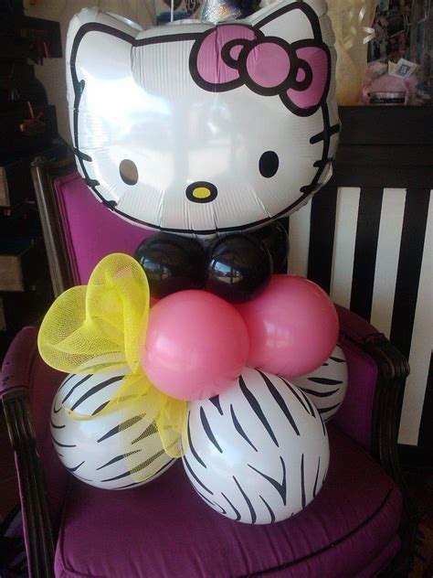 Balls Hellokitty Centerpiece Hello Kitty Centerpieces Hello Centerpiece Birthday