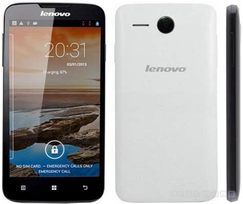 Ts Lenovo A680 White lenovo a680 specifications features and price