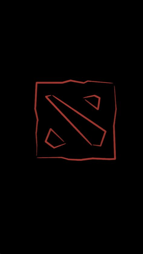 Dota 2 Logo For Iphone 6 dota 2 logo wallpaper for iphone www pixshark images galleries with a bite