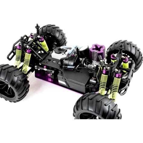 monster trucks nitro 2 1 10 nitro rc monster truck red dragon