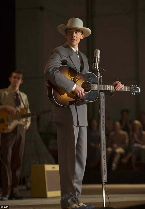 hank williams biopic i saw the manager s tom hiddleston goes country in new biopic i saw the light daily mail