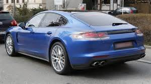 Porsche Panamera 2 Door Coupe Could A Two Door Panamera Be Coming From Porsche Motor1