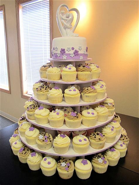 wedding cupcake tower bortz flickr