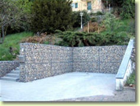 Hangsicherung Gabionen Kosten by Uszkureit Gartenlandschaftsbau Hang Und B 246 Schungssicherung