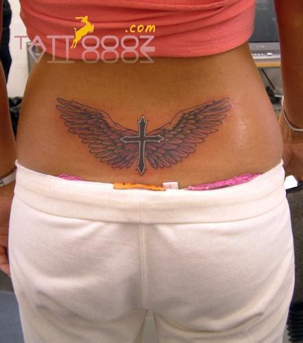 small cross with wings tattoo 17 best images about wings on cross tattoos