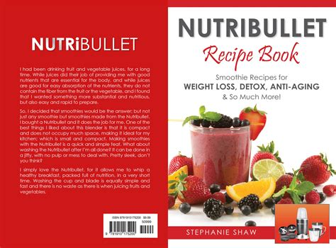 Nutribullet 3 Day Detox Recipes by Nutribullet Recipe Book Smoothie Recipes For Weight Loss