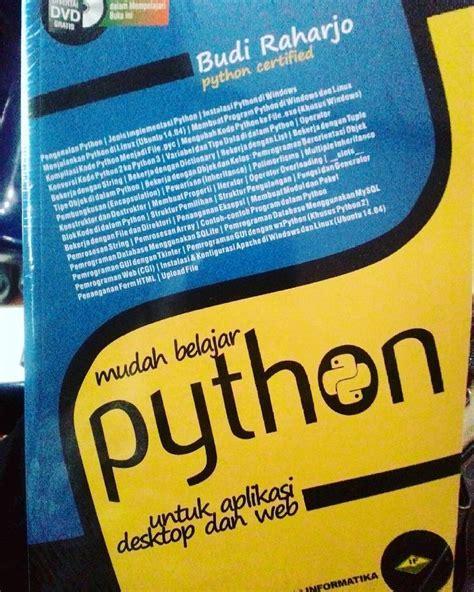 Belajar Otodidak Mysql Budi Raharjo something we loved from instagram buku mudah belajar pyton budi raharjo rp 105rb buku
