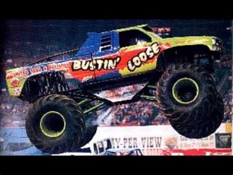 monster jam truck theme songs bustin loose theme song youtube