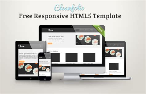 What Is A Responsive Template by Cleanfolio Free Responsive Html5 Template Idevie