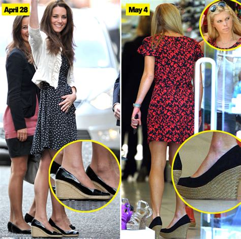 Prince Dating Identical by Chelsy Davy Copies Kate Middleton Goes Shoe Shopping