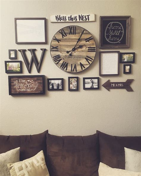 oversized home decor best 25 wall clock decor ideas on pinterest big clocks decorating a large wall in living