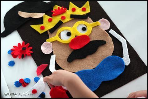 pattern for felt mr potato head mr potato head felt board set kids pinterest