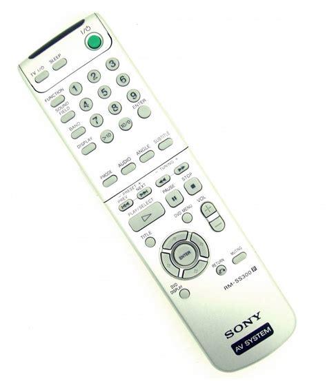 Remote Tv Sony Av System Rm Ss800 Original Original Remote Sony Rm Ss300 Av System