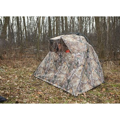 gooseview layout blinds pacific double layout ground hunting blind ameristep