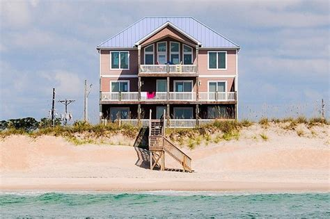 topsail island house rentals beach vacation rental vrbo 466898 9 br topsail island house