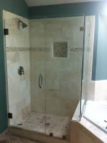 How To Repair Glass Shower Door Frameless Glass Shower Door Photo Gallery Precision Glass