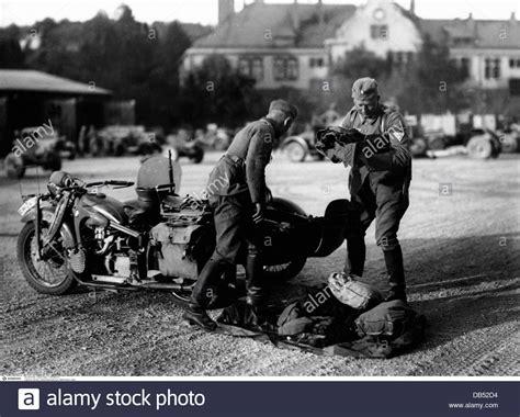 Motorrad Mit Beiwagen Wehrmacht by Nazism National Socialism Military Wehrmacht Stockfotos