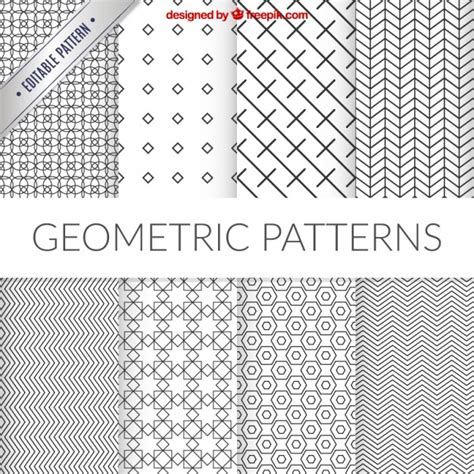 svg pattern editor geometric patterns collection vector premium download