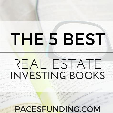 real estate investing books 5 best real estate investing books