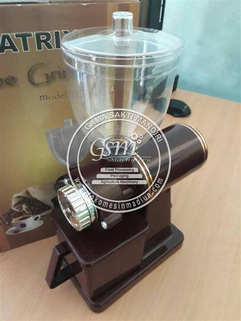 Mesin Pembuat Kopi Portabel Mesin Kopi Mobil Portabel mesin penggiling kopi listrik toko mesin madiun
