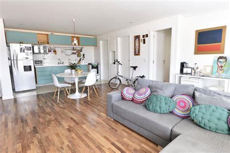 decorar 2 fotos juntas sala e cozinha conjugada em um projeto moderno e criativo