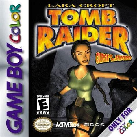 play tomb raider curse of the sword usa gb online for