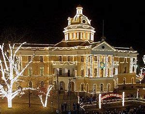 it s 40 days of holiday lights for marshall texas