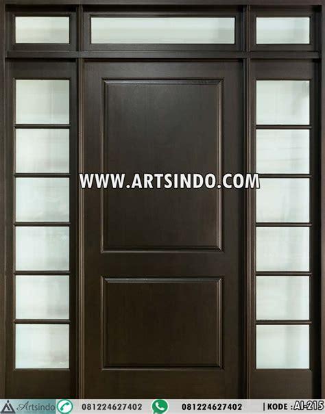 Pintu Panel Jati pintu minimalis jendela panel kaca ai 215 arts indo furniture jepara arts indo furniture jepara