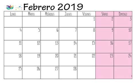 calendario febrero   imprimir calendar printables  calendar calendar