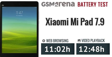 Hf Mi Xiaomi 情報 小米平板續航測試出爐 gsmarena cplife板 disp bbs