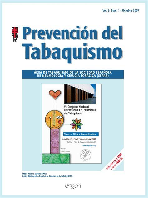 issuu ii parte experiencias y propuestas de share the knownledge issuu prevenci 243 n del tabaquismo v9 sup1 octubre 2007
