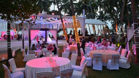 goa wedding events photos bay 15 dona paula goa banquet hall wedding lawn