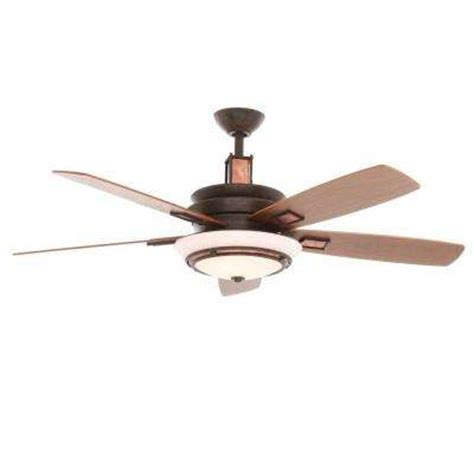 Home Depot Ceiling Fans With Remote by Hton Bay Remote Included Copper Ceiling