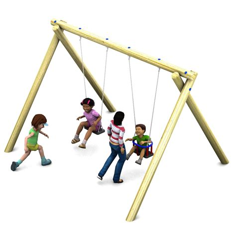 playground swing seats 2 4m flat seat cradle seat swing fawns playground