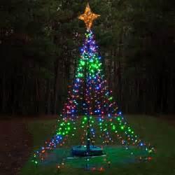 diy christmas ideas make a tree of lights using a