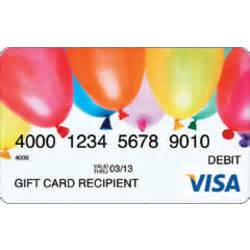 How To Set Up A Visa Gift Card - 100 balloons visa gift card findgift com