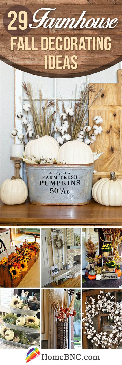 Decorating Ideas by 29 Best Farmhouse Fall Decorating Ideas And Designs For 2019