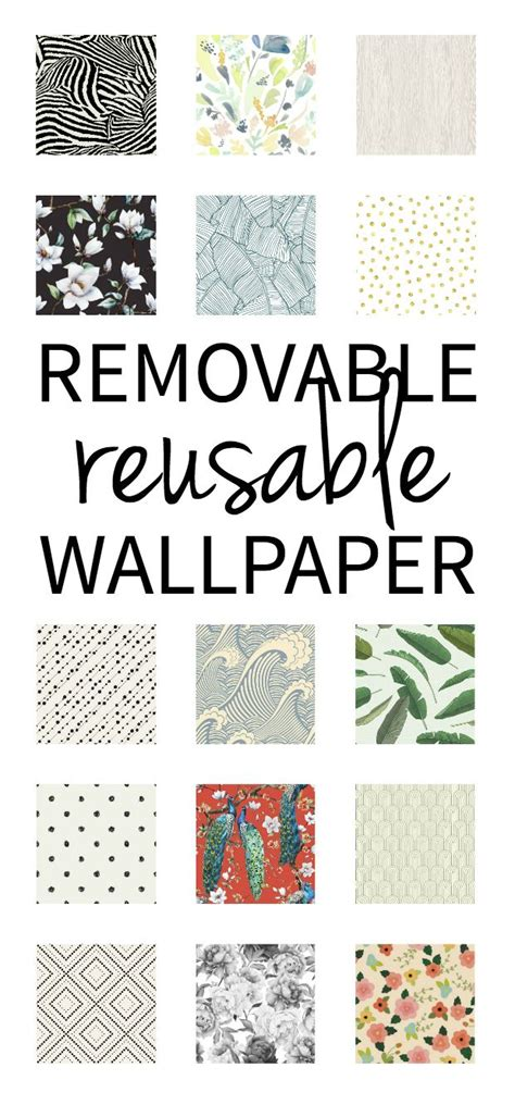removable wallpaper for renters reusable removable wallpaper 25 off for a limited time