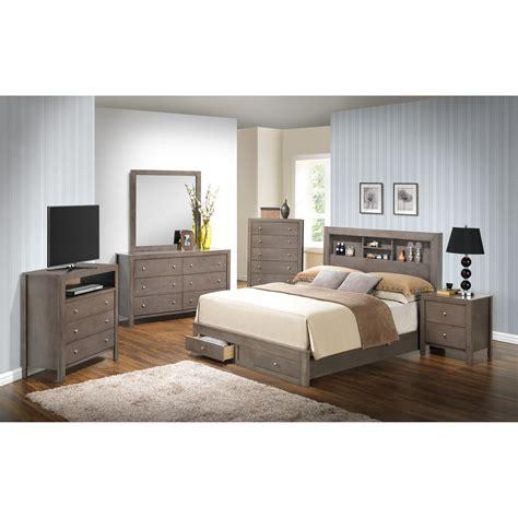 glory furniture storage panel customizable bedroom set reviews wayfairca