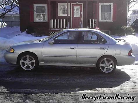 nissan 2002 modified 2002 nissan sentra se r spec v modified car pictures