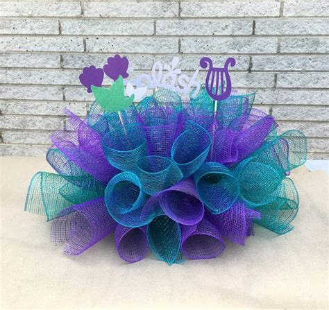 mermaid centerpiece decorations 17 best ideas about mermaid decorations on