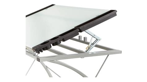 Drafting Table Glass Top Modern Xpressions Glass Top Drafting Table Zuri Furniture