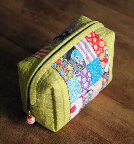Tutorial Patchwork - small bag of patchwork diy tutorial diy tutorial ideas