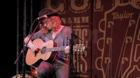 allen stone quot the bed i made quot namm 2013 with taylor