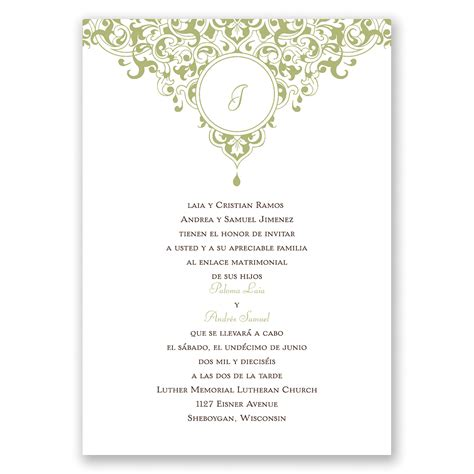 sle wedding invitation cards friends best 28 sle invitation card for damask