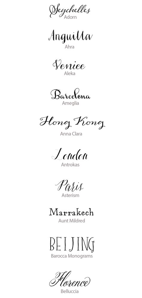 Wedding Handwriting Font by Best Calligraphy Fonts For Weddings 50 Lettered