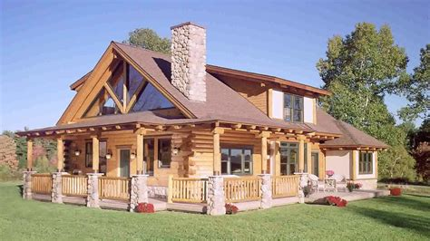 log homes with wrap around porches log house plans with wrap around porch youtube luxamcc