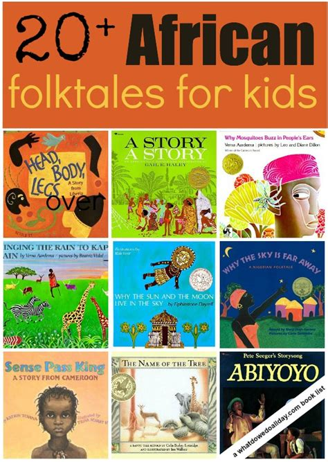 in the of africa books 20 folktale picture books for